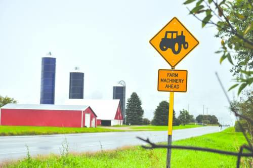 Road commissioners: farm equipment has outgrown rural road systems