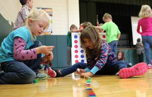 Pine River Area Elementary highlighting team-building during WOW events