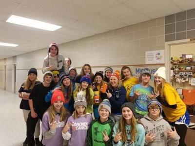 Cadillac Junior High students participated in spirit days