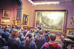 St. Johnsbury Academy's Freshman Humanities Capstone Program Partners with Local Cultural Institutions