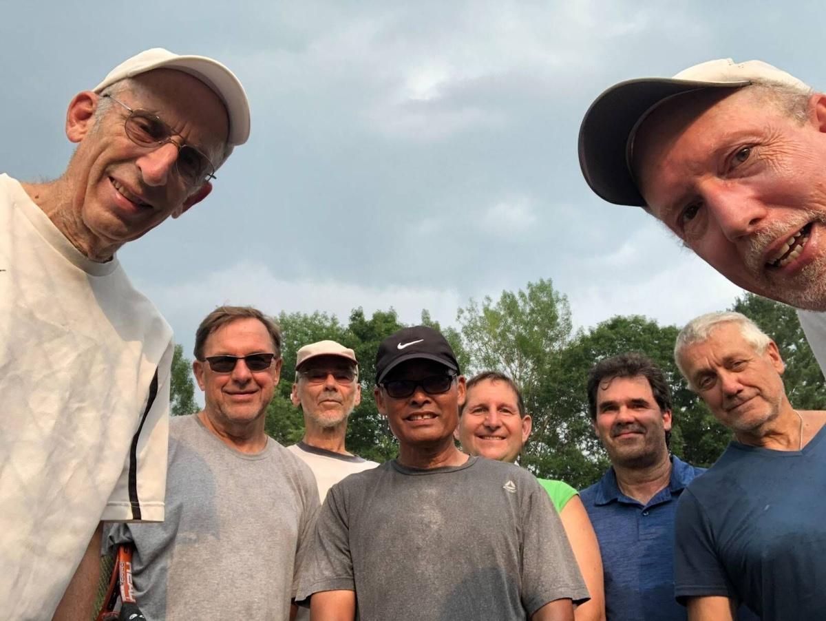 Local Tennis Players Back On The Court