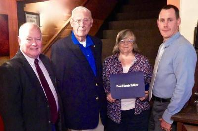 Brenda Aldrich Honored As Paul Harris Fellow