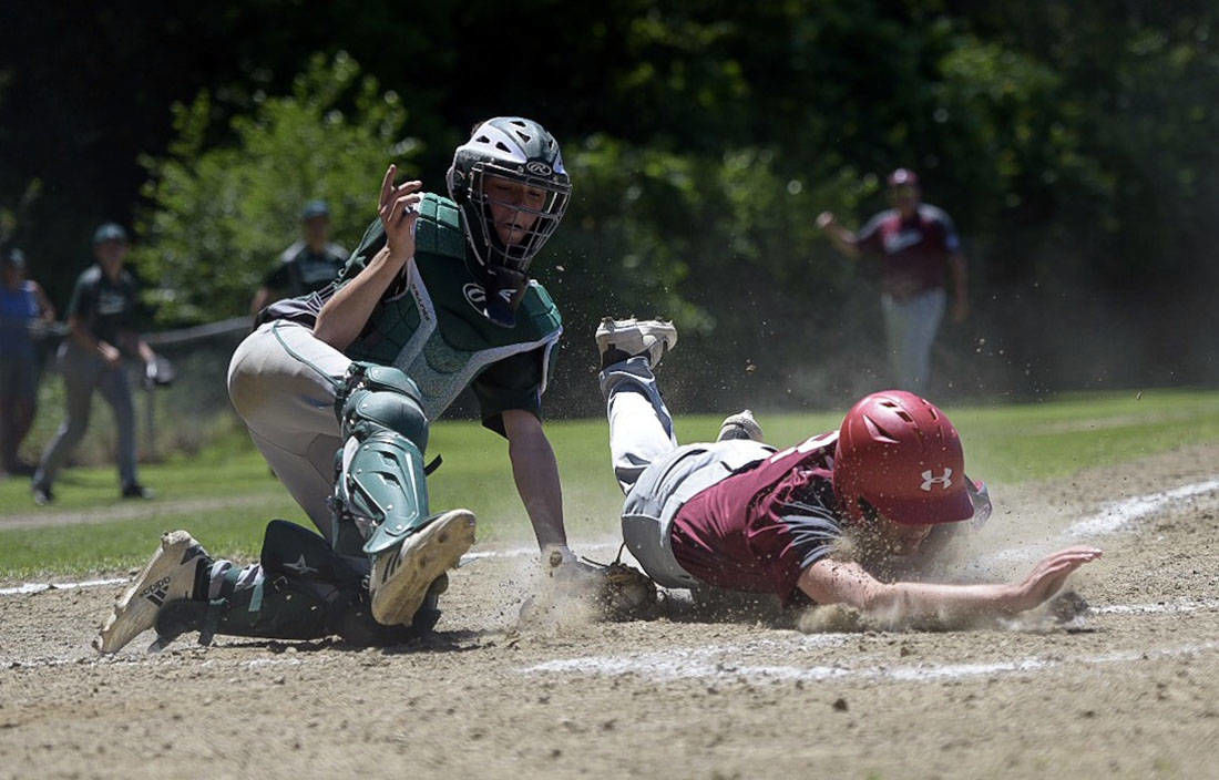 Babe Ruth 15U baseball: Lyndon rolls past St. J, advances to state