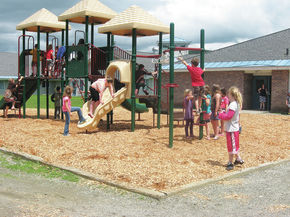 Pat O'Hagan Memorial Playground Completed