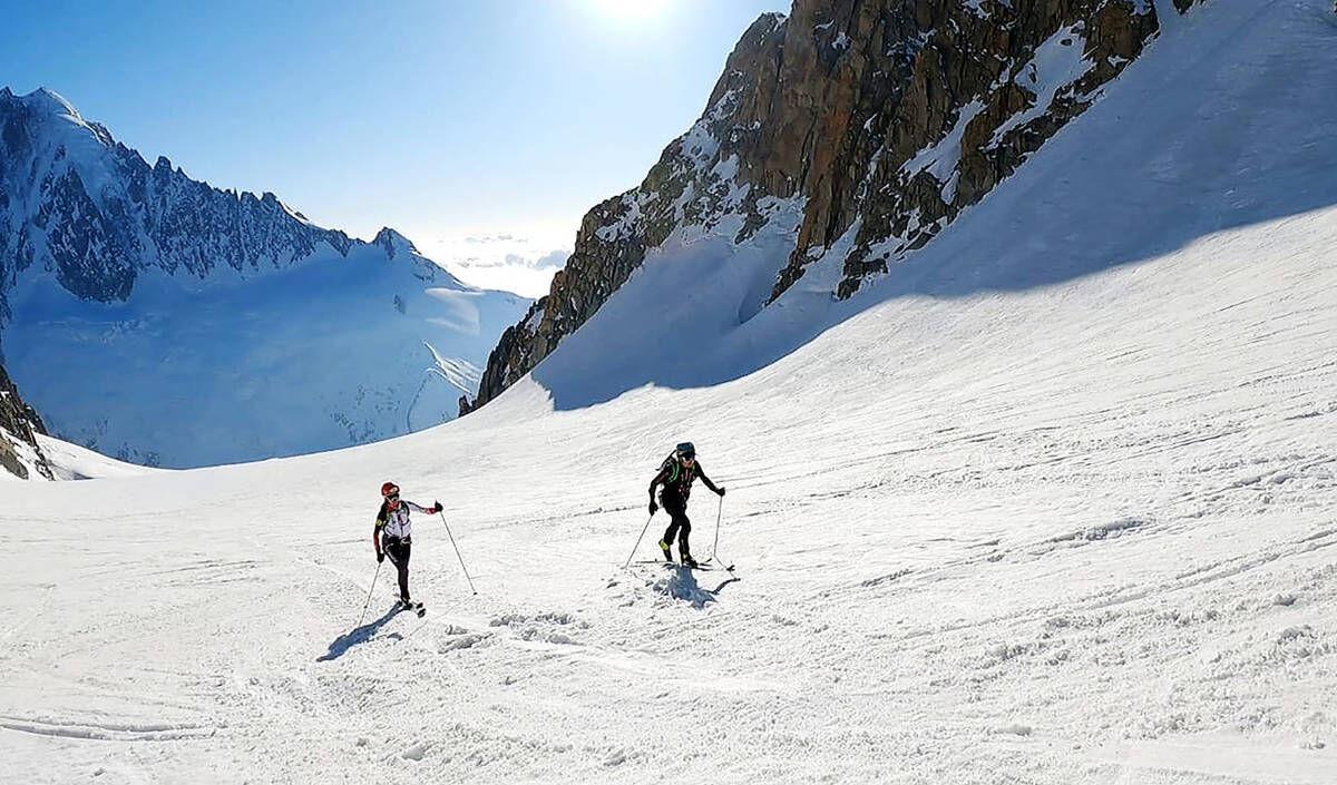 Rare Air: St. J's Hillary Gerardi Makes Historic Traverse In Alps