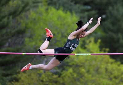 Vt. H.S. track and field: Defending champ Lia Rotti leads after Day 1