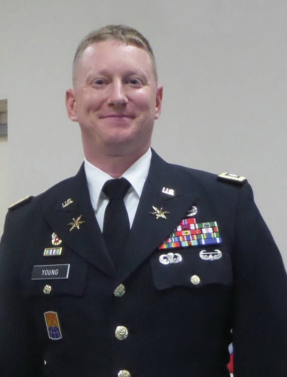 Former Derby Man Retires From Army As Lieutenant Colonel