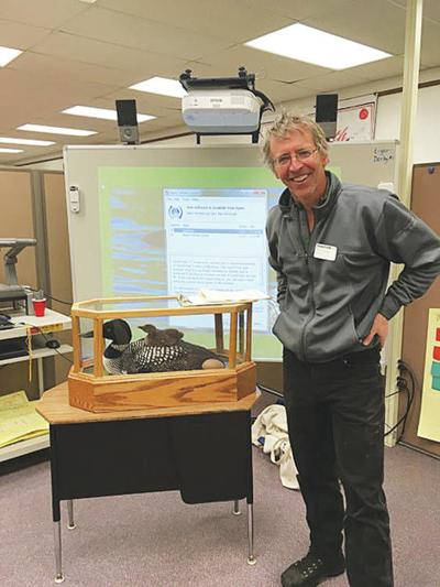 Derby Students Learn About The Common Loon