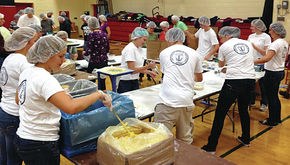 LHS NHS students raise funds for Feed My Starving Children