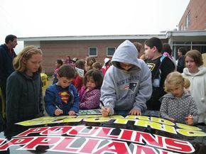 Stratford students kick off Race to Read Program