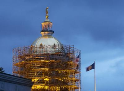$1 Million State House Dome Renovation Nears Completion