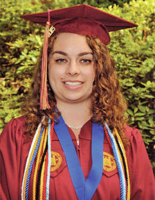 Kally Lavoie graduates from Elon University