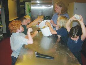 UCA students make Stone Soup