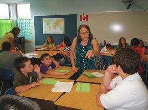 Stratford School holds writer in residence program