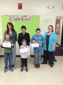 Stark Village names Star students of the month