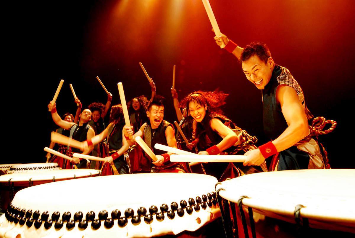 Yamato Japanese Drummers Bring Ancient Thunder to Lyndon