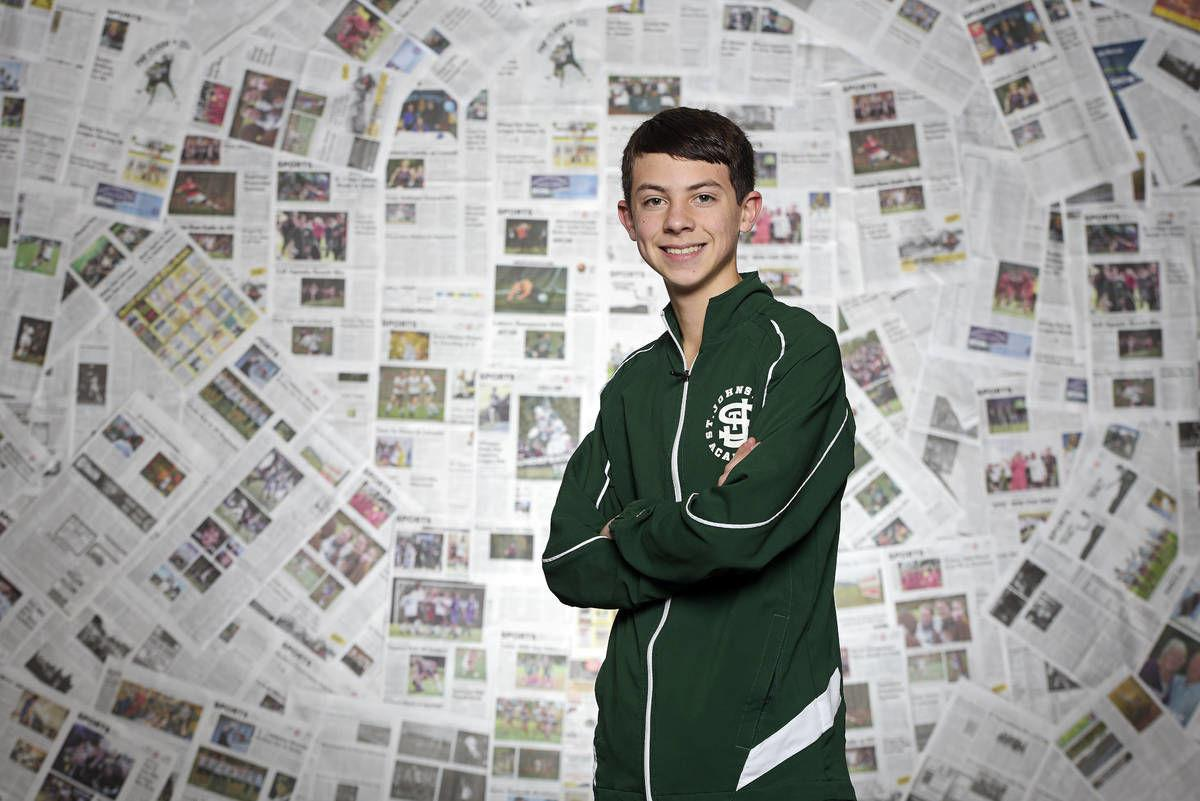 St. Johnsbury Academy's Evan Thornton-Sherman: The Record's 2019 Boys Cross Country Runner of the Year