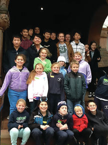 Good Shepherd Students Meet SJA Pen Pals