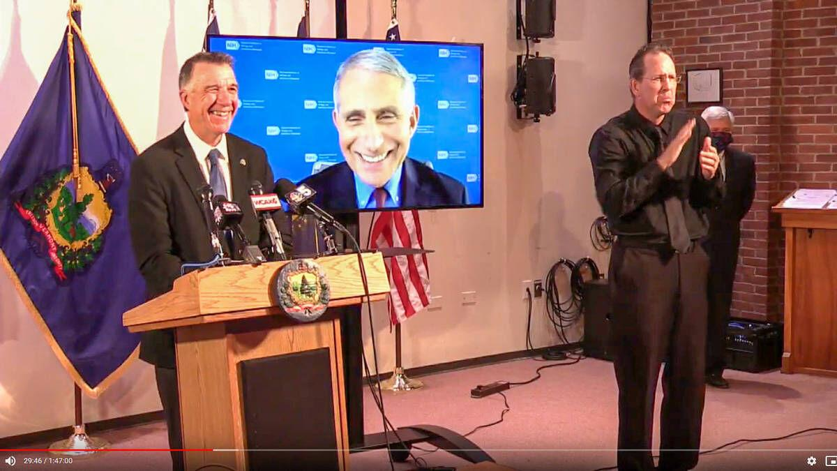 Dr. Fauci Warns Vermonters To Not Let Up In Fight Against Coronavirus