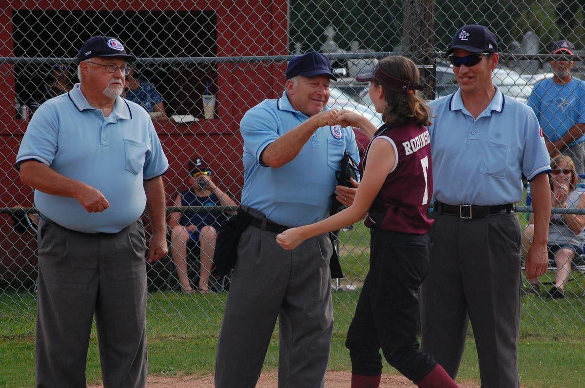 Longtime Lyndonville umpire Bill Chamberlin retires