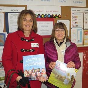 Area residents read to students at St. Johnsbury School