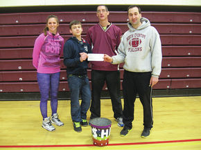 NCCC PE students donate to Christmas dinner