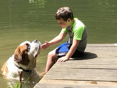 Thoughts On The Out-Of-Doors: A Boy And A Dog