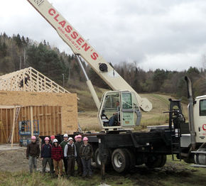 SJA Student Organization Nearing End Of Project Helping Lyndon Outing Club