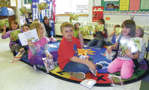 Over 100 CNSU First Graders Receive Free Books