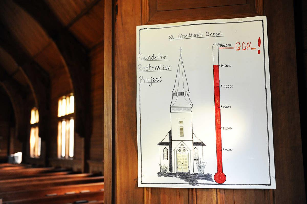 Preserving History: Fixing The Rock A Picturesque Church Is Built Upon