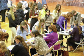 Business Professional Women hold camp at Lyndon Institute