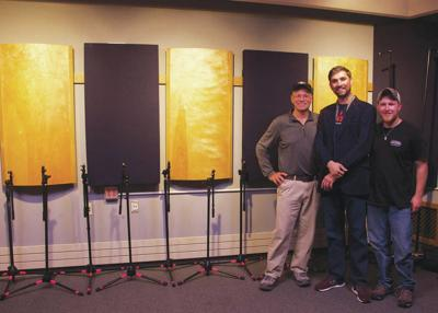 NVU Partners With NEK Crafters To Renovate Campus Recording Studio