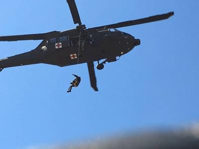 National Guard Helicopters Assist With Hiker Emergencies In White Mountains