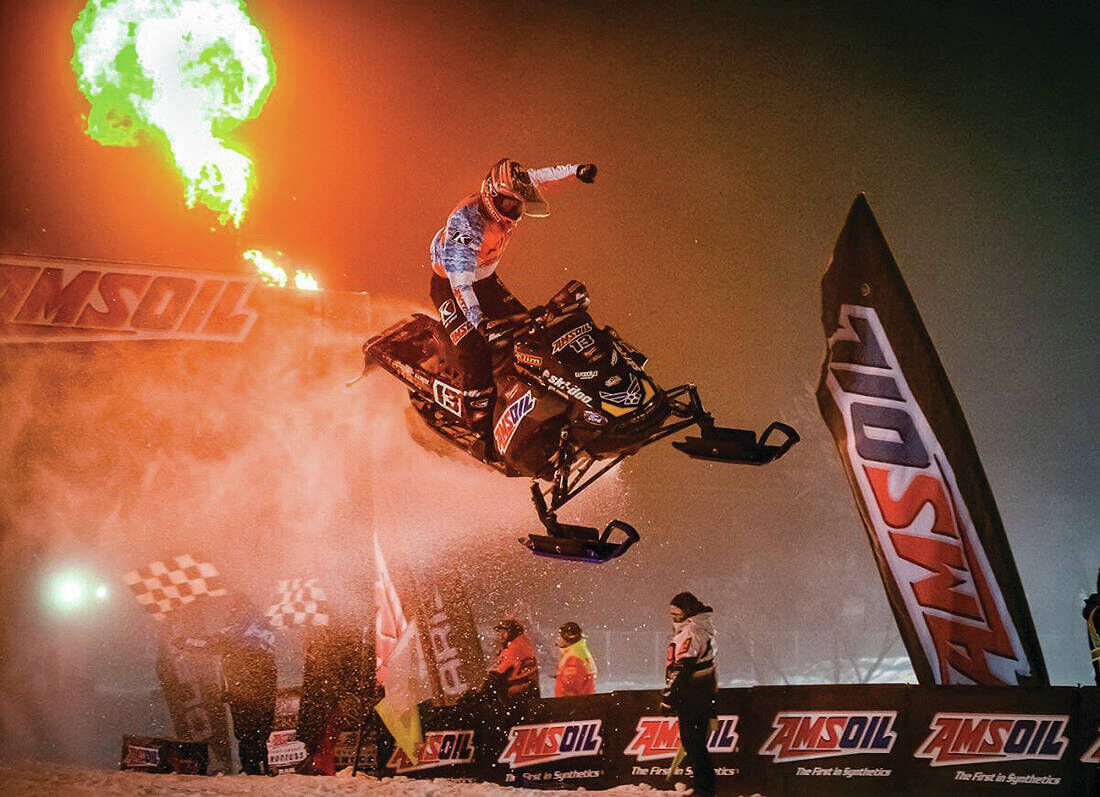 St. J's Lincoln Lemieux Reigns In Snocross Season Opener; Fellow Vermonter And Teammate Hunter Patenaude Has Points Lead