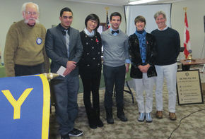 St. J Rotary holds speech contest for area students