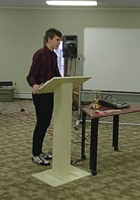St. Johnsbury Rotary holds District Speech Contest