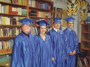 Sutton School graduates five eighth graders