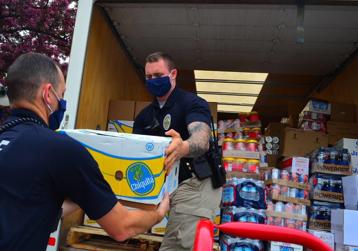 NEK Business Owner Donates Trucks, Time For Massive Food Delivery For Seniors