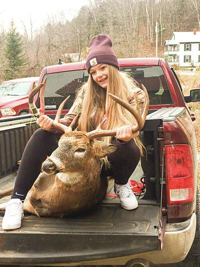 Teen Hunter Bags Buck That Would Make Her Late Father Proud