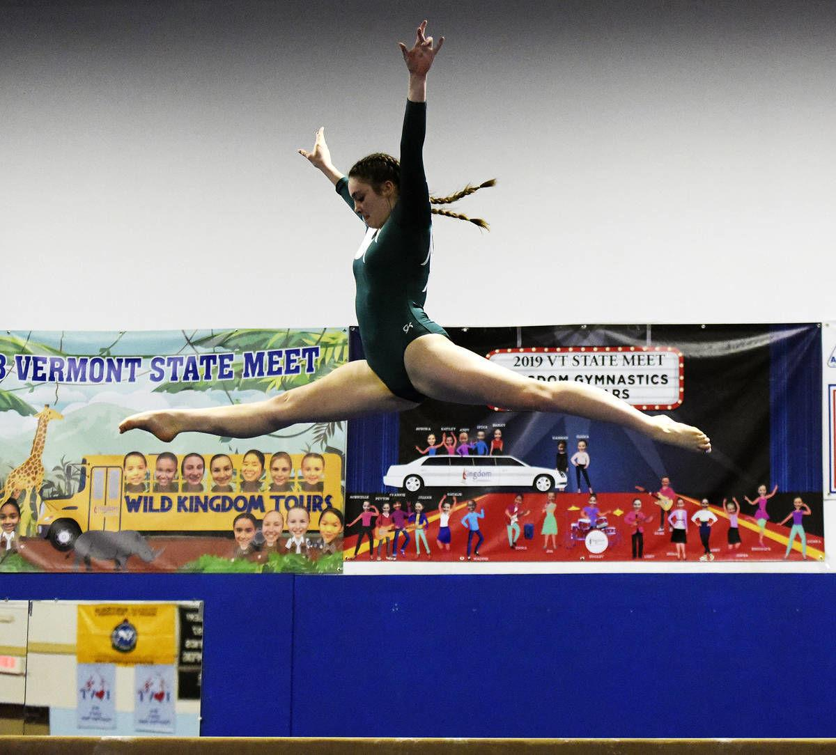 H.S. gymnastics: Jones, Hilltoppers keep rising in home win