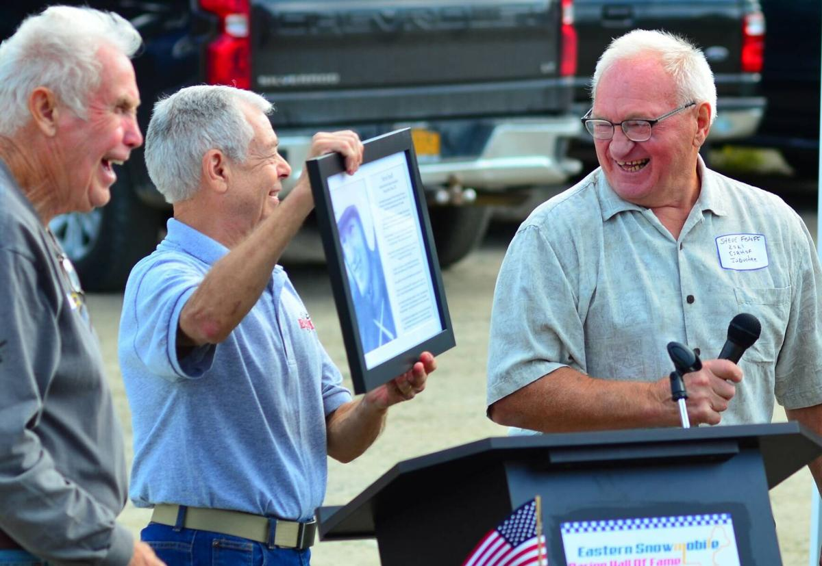 St. Johnsbury Man Inducted Into Eastern Snowmobile Racing Hall Of Fame In Lancaster