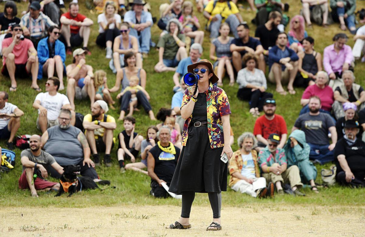Left, Right Outrage Meet At PorcFest