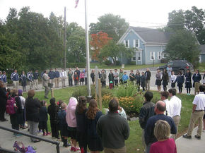 UCA Student And Faculty Participate In 'See You At The Pole'