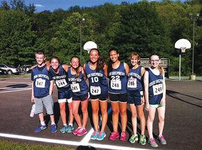 Good Shepherd's new Cross Country running team