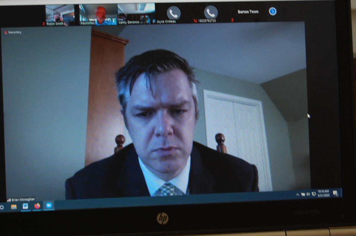 Croteau, Selectman Present Arguments At Barton Hearing
