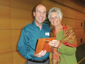 Tim Chamberlin Receives The Carolyn Donahue Friend Of EOE Award