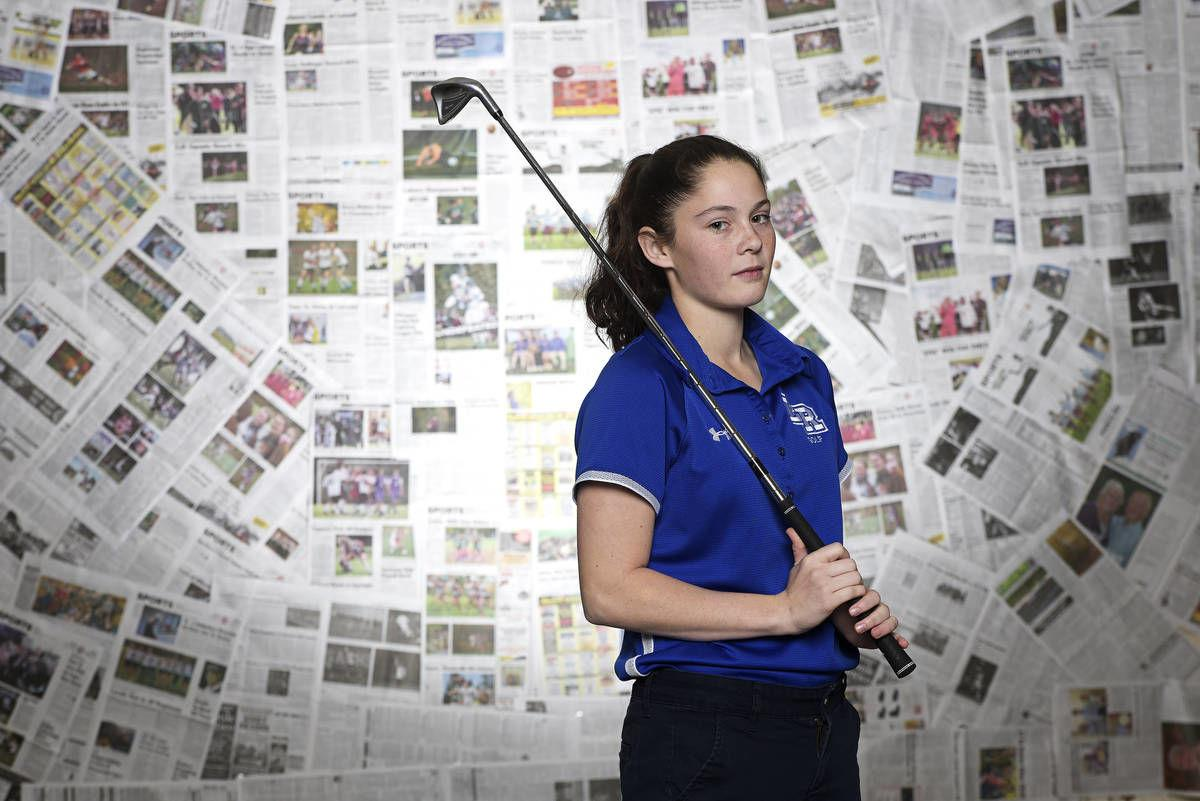 Lake Region Union's Tia Martinez: The Record's 2019 Girls Golfer of the Year