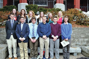 Profile students honored as student athletes