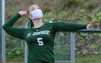 St. J's Haggett To Play Volleyball For Hornets