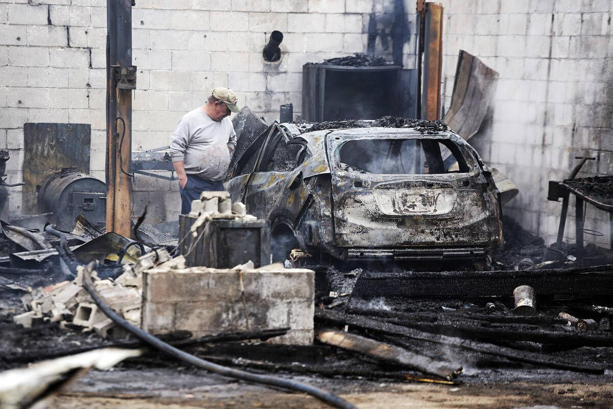 Community Rallies Around Auto Body Shop Owner After Devastating Fire
